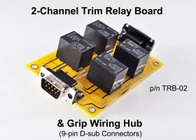 Two-channel Trim Relay Board