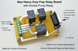 HD Flap Relay Board w/Smoke Pump Control