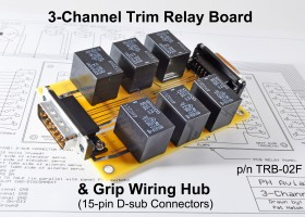 3-Channel Trim Relay Board & Hub