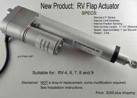 RV Flap Actuator